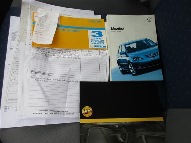2004 MAZDA MAZDA3 MAXX BK 5D HATCHBACK