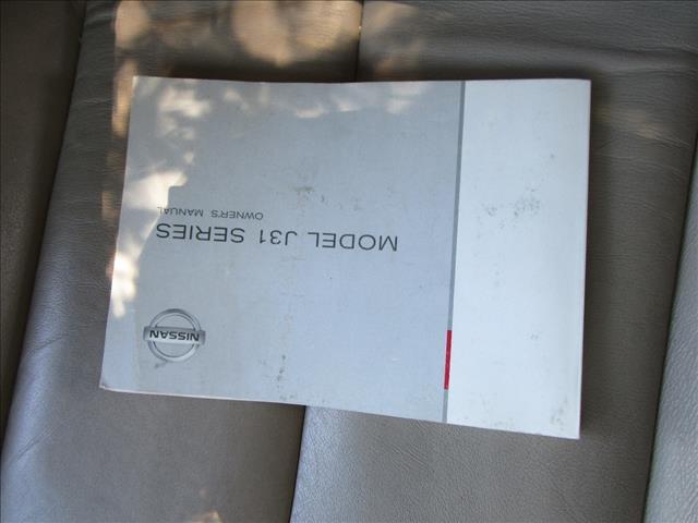 2005 NISSAN MAXIMA Ti J31 4D SEDAN