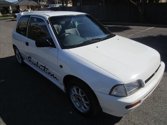 1995 DAIHATSU CHARADE TS 3D HATCHBACK