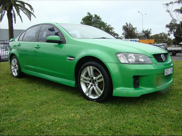 2009  HOLDEN COMMODORE SV6 VE MY09.5 SEDAN