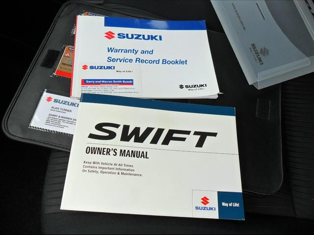 2011  SUZUKI SWIFT GL FZ HATCHBACK
