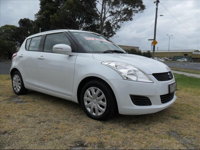 2011  SUZUKI SWIFT GL FZ HATCHBACK