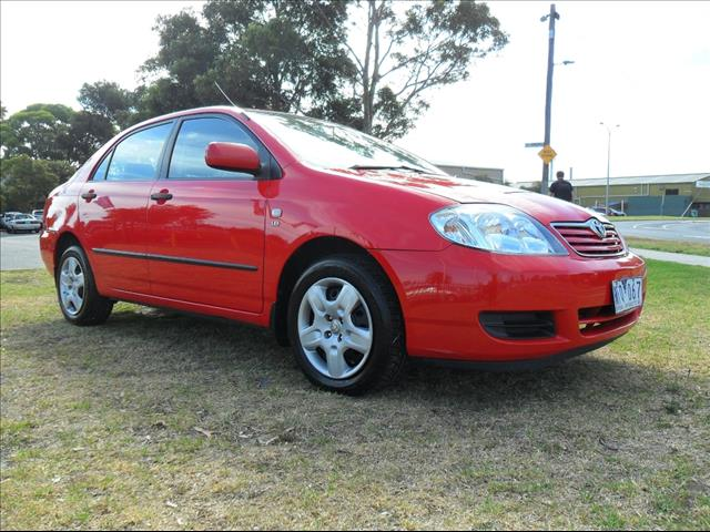 2006  TOYOTA COROLLA ASCENT ZZE122R 5Y SEDAN