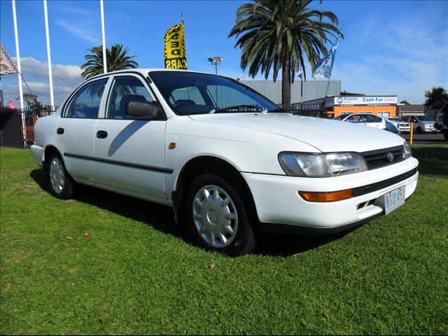 1995  TOYOTA COROLLA Conquest AE102X SEDAN