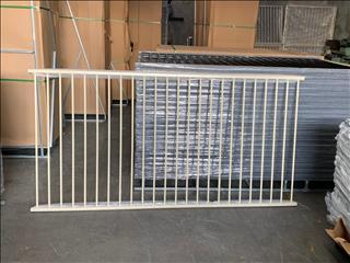 FLAT TOP PANELS 2.4 X 1.2 HIGH POWDER COATED PRIMROSE $58 INC GST