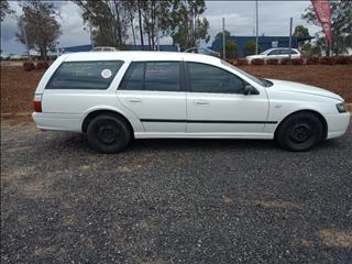 2008 FORD FALCON XT BF MKII 4D WAGON