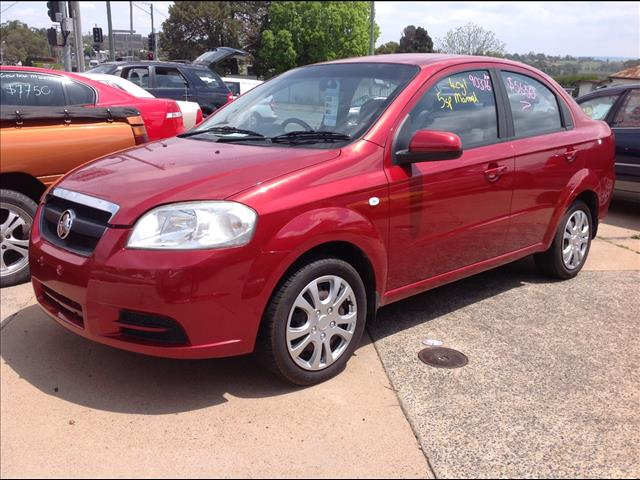 2009 HOLDEN BARINA TK MY09 4D SEDAN