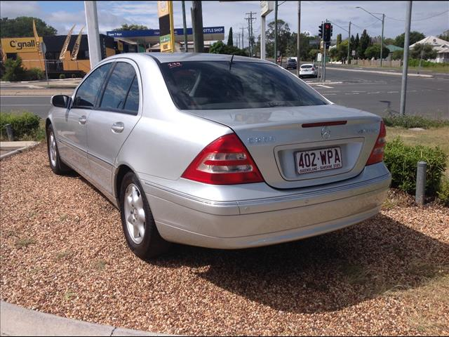 2003 MERCEDES-BENZ C200 KOMPRESSOR CLASSIC W203 4D SEDAN