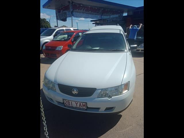 2004 HOLDEN COMMODORE VYII UTILITY