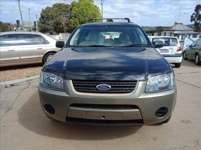 2009 FORD TERRITORY TX (RWD) SY MKII 4D WAGON
