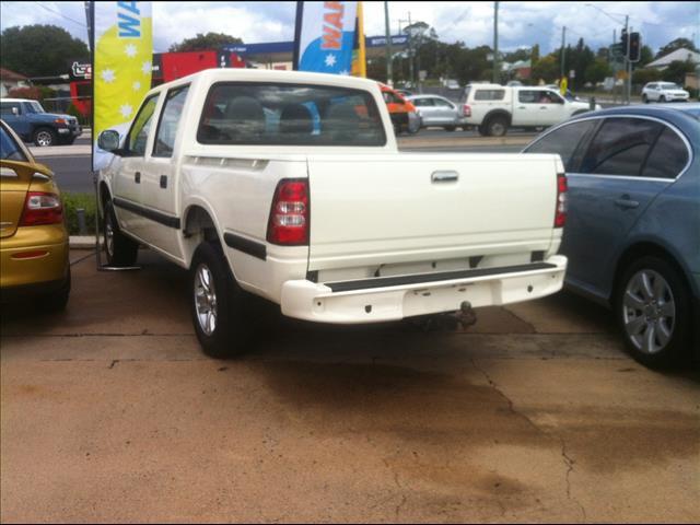 2009 GREAT WALL SA220 (4x2) CC DUAL CAB UTILITY