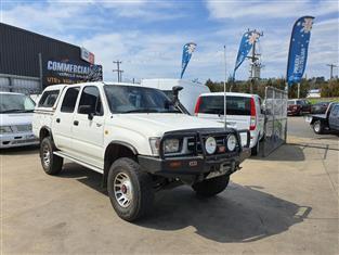 1997 TOYOTA HILUX (4x4) LN167R DUAL CAB P/UP