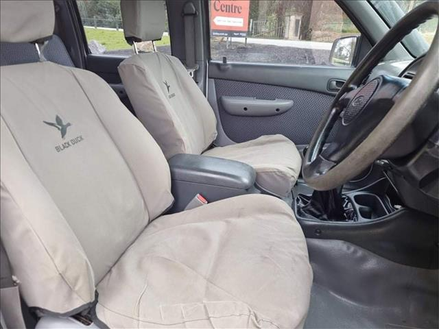 2003 FORD COURIER XL (4x4) PG SUPER CAB P/UP