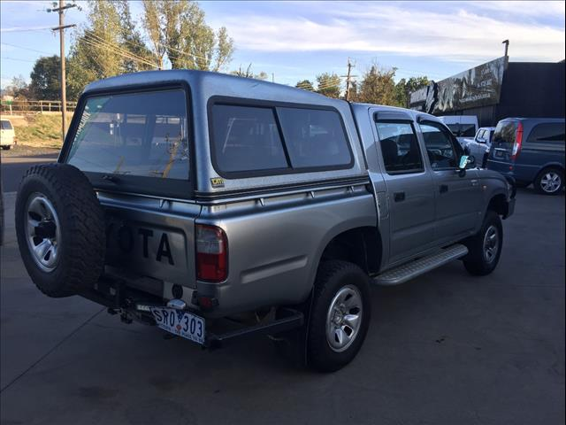 2003 TOYOTA HILUX (4x4) VZN167R DUAL CAB P/UP