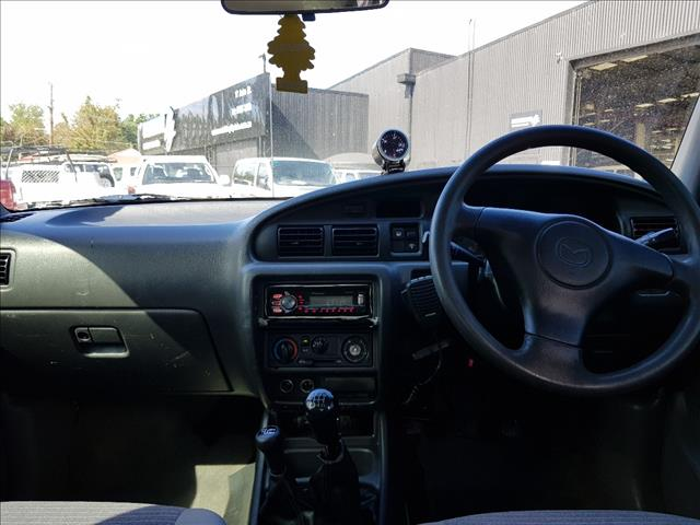 2000 MAZDA B2500 BRAVO DX (4x4) DUAL CAB P/UP