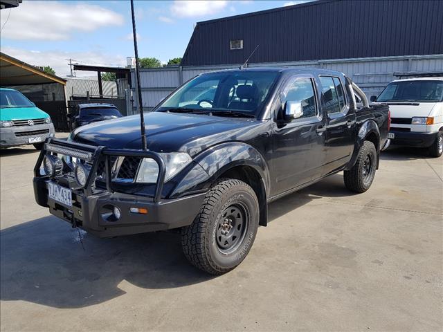2008 NISSAN NAVARA ST-X (4x4) D40 DUAL CAB P/UP