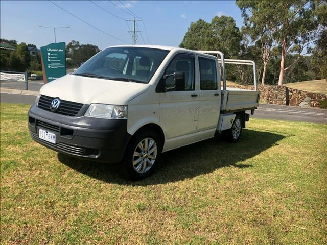 2008 VOLKSWAGEN TRANSPORTER LWB 4MOTION T5 MY08 DUAL C/CHAS