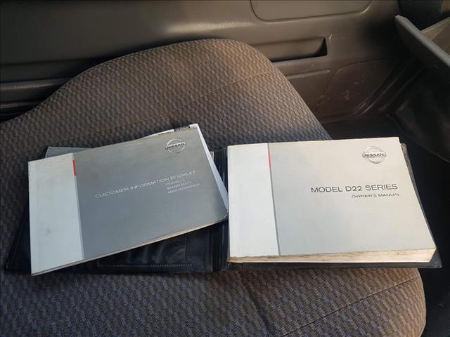 2010 NISSAN NAVARA DX (4x4) D22 MY08 C/CHAS