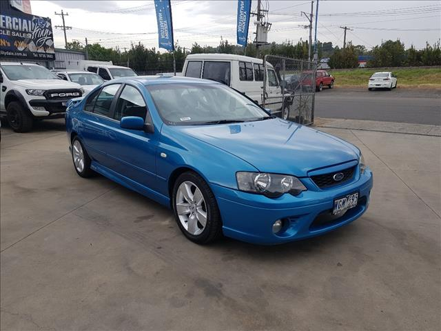2007 FORD FALCON XR6 BF MKII 4D SEDAN