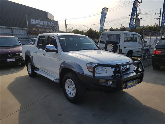 2007 MAZDA BT-50 B3000 DX (4x4) DUAL CAB P/UP