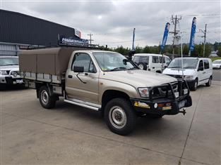 2003 TOYOTA HILUX (4x4) LN167R C/CHAS