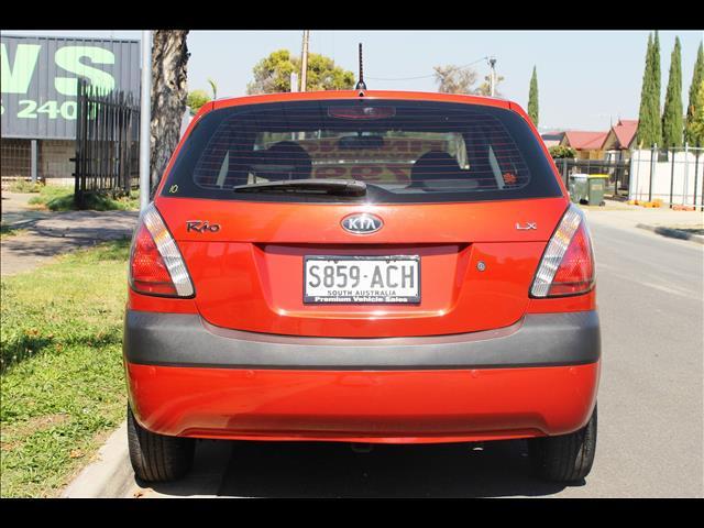 2009 KIA RIO LX JB 5D HATCHBACK