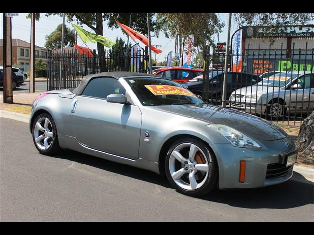 used 2006 nissan 350z roadster track z33 my06 upgrade 2d convertible