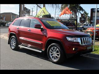 2012 JEEP GRAND CHEROKEE LIMITED 4X4 WK MY13 4D WAGON