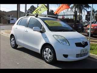 2008 TOYOTA YARIS YR NCP90R 08 UPGRADE 5D HATCHBACK