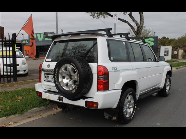 2005 NISSAN PATROL ST 4X4 GU IV 4D WAGON