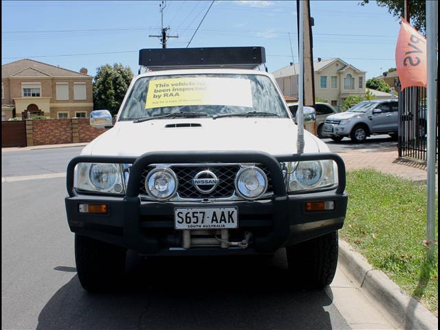 2008 NISSAN PATROL ST 4X4 GU VI 4D WAGON