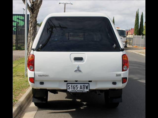 2009 MITSUBISHI TRITON GLX 4X4 ML MY09 DOUBLE CAB UTILITY