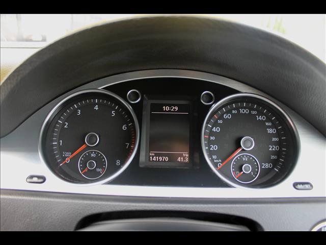 2009 VOLKSWAGEN PASSAT CC V6 FSI 3C MY10 4D COUPE
