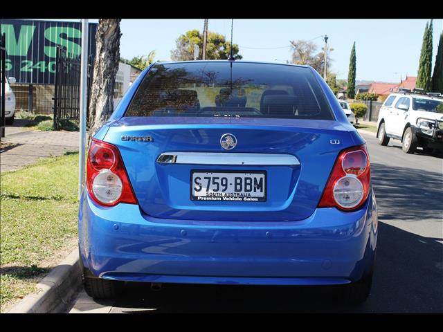 2014 HOLDEN BARINA CD TM MY15 4D SEDAN
