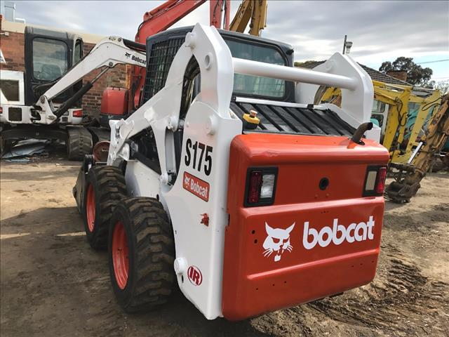 Earthmoving Machinery Used Bobcat S175 Skid Steer Loader For Sale In