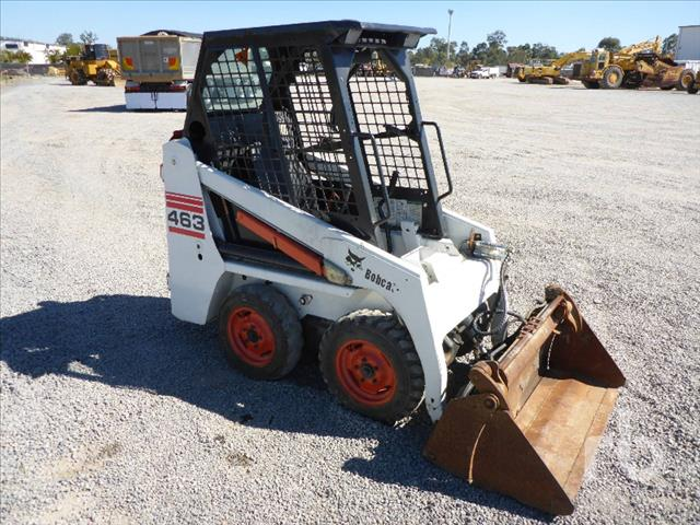 Earthmoving Machinery Used Bobcat 463f Skid Steer Loader For Sale In