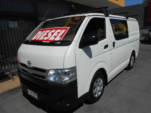 34ffe8bbc707a6 Used 2012 TOYOTA HIACE LWB KDH201R MY11 UPGRADE 4D VAN for sale in West  Hindmarsh