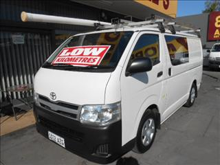 d2658ca0bd 2013 TOYOTA HIACE LWB KDH201R MY12 UPGRADE 4D VAN for sale in West  Hindmarsh