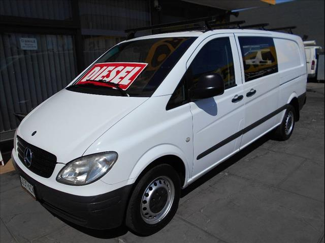 2009 MERCEDES-BENZ VITO 111CDI EXTRA LONG MY08 4D VAN