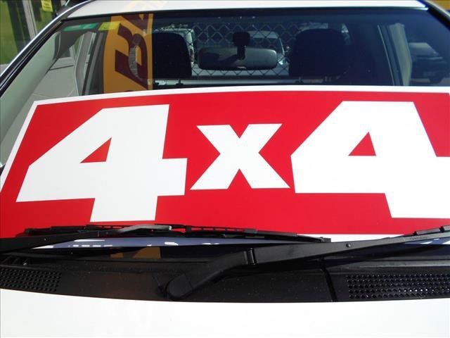 2013 MITSUBISHI TRITON GLX 4X4 MN MY12 DOUBLE CAB UTILITY