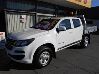 2017 HOLDEN COLORADO LS 4X4 RG MY18 CREW CCHAS