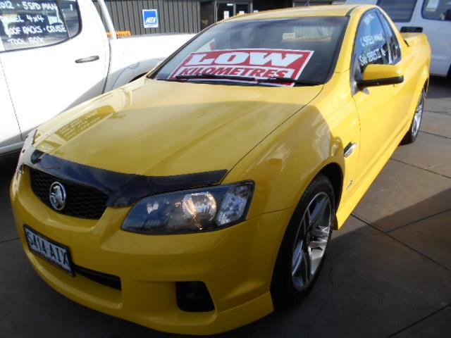 2010 HOLDEN COMMODORE SV6 VE II UTILITY