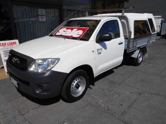 2009 TOYOTA HILUX WORKMATE TGN16R 09 UPGRADE CCHAS