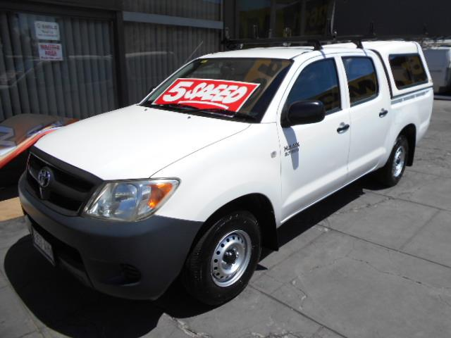 2005 TOYOTA HILUX WORKMATE TGN16R CCHAS