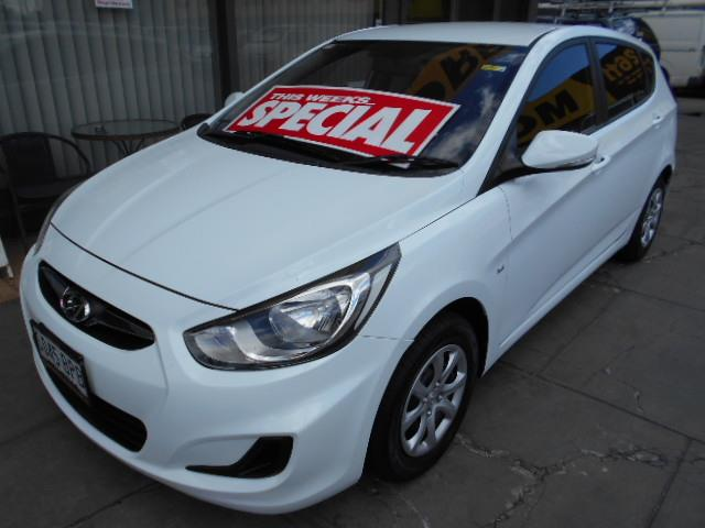 2011 HYUNDAI ACCENT ACTIVE RB 5D HATCHBACK