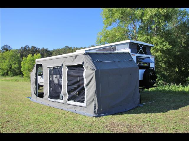 "TRAX-15 ""White Series""  JAWA Off-road Hybrid Caravan - Dinette + Bunk / Ensuite"