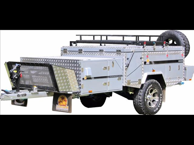 "CRUISER ""Silver Series"" Forward Fold 7x6 JAWA OFFROAD CAMPER TRAILER"