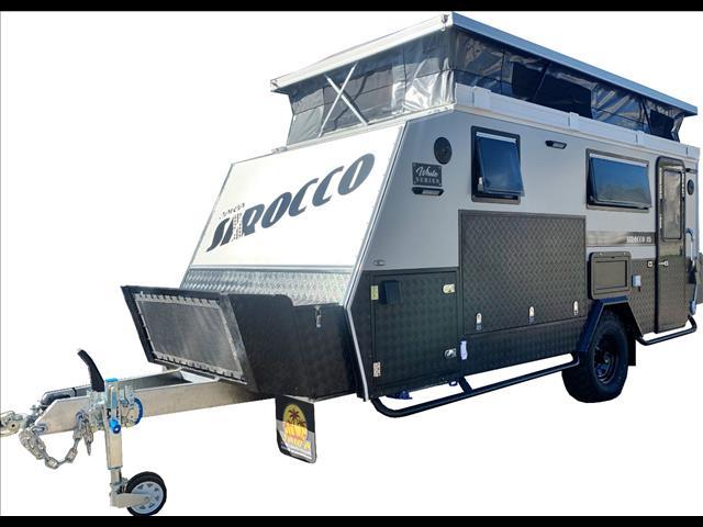 "SIROCCO ""White Series"" Hybrid Caravan"