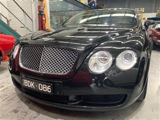 2004 BENTLEY CONTINENTAL GT 3W 2D COUPE