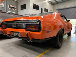 "1974 FORD XB FALCON COUPE GT TRIBUTE IMMACULATE FOR AGE 351 V8 C10 AUTO 9"" DIFF LTD"